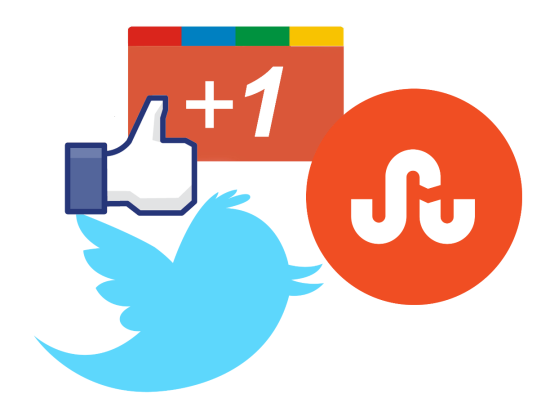 Get counts of share, likes of different social and bookmarking sites