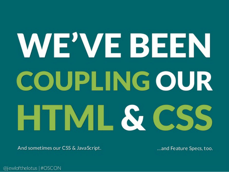 CSS and HTML Decoupling
