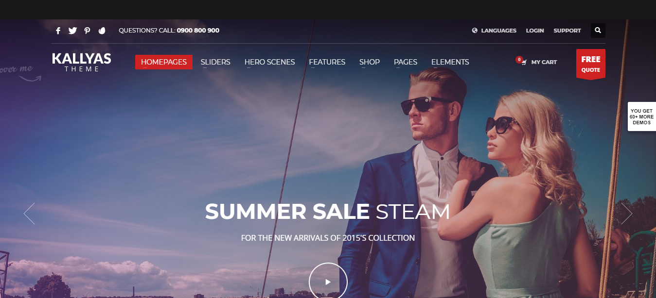 Best WordPress eCommerce themes, WooCommerce WordPress themes