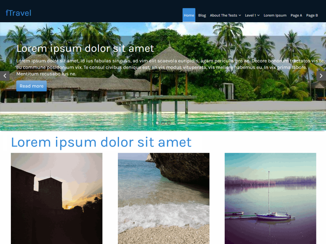 Best Free Responsive Travel WordPress Themes