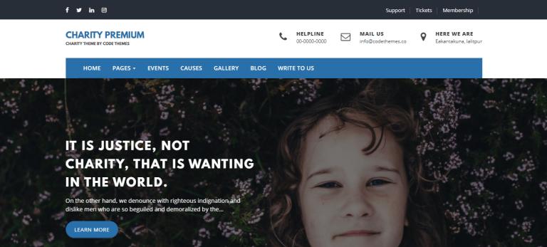 Best premium WordPress themes for nonprofits charity