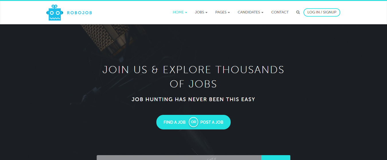 Best Premium WordPress themes for Directory Listing, Robojob
