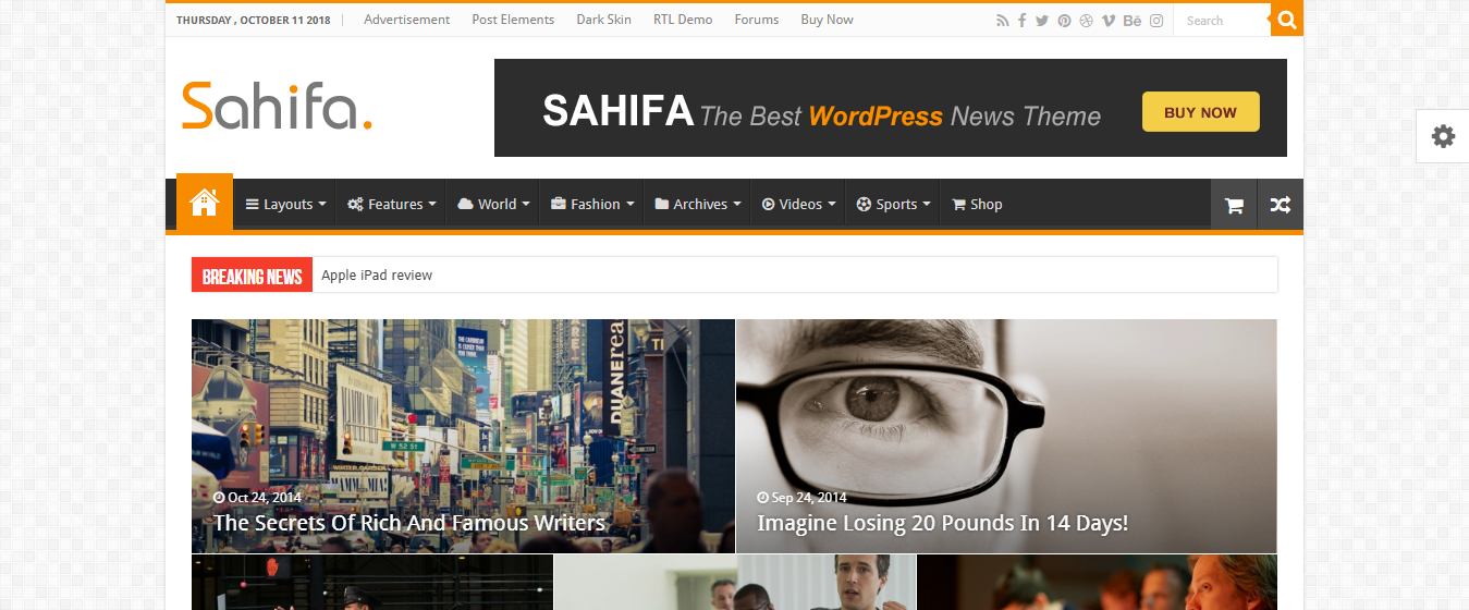 Best Premium WordPress themes for blogs, bloggers, and writers