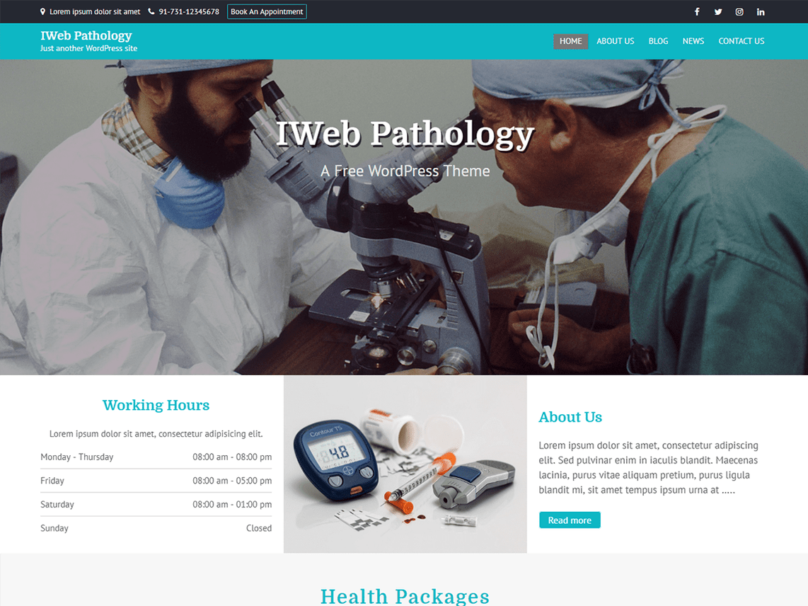 IWebPathology-top-best-free-medical-WordPress-themes-Codethemes
