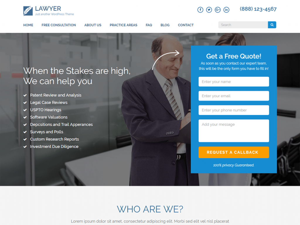 LawyerLandingPage-best-attorney-legal-CodePixelz