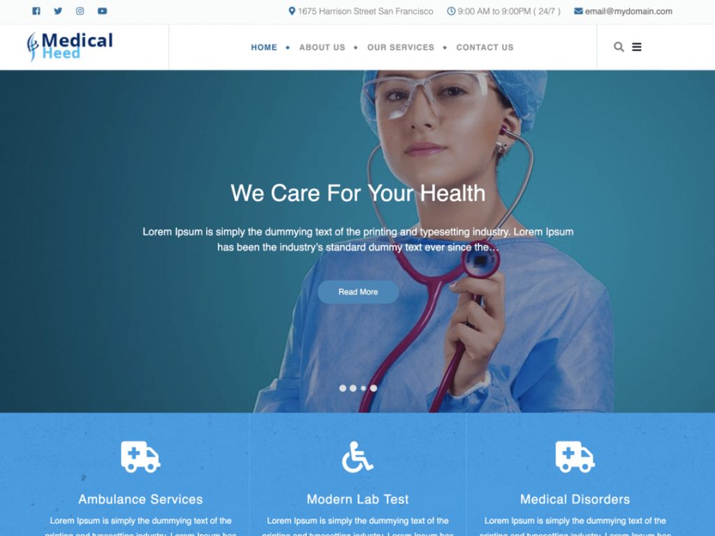 Medical-Heed-medical-WordPress-theme-CodePixelz