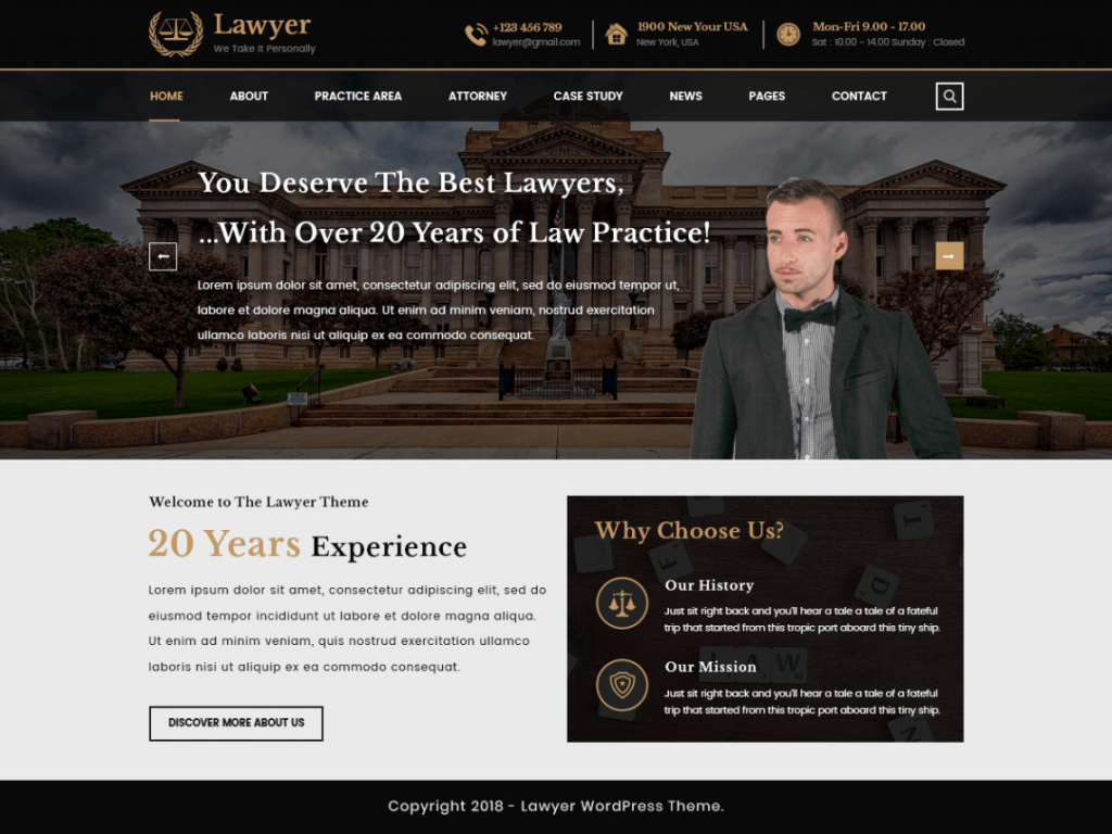 VWLawyer-Attorney-best-free-WordPress-lawyer-themes-CodePixelz