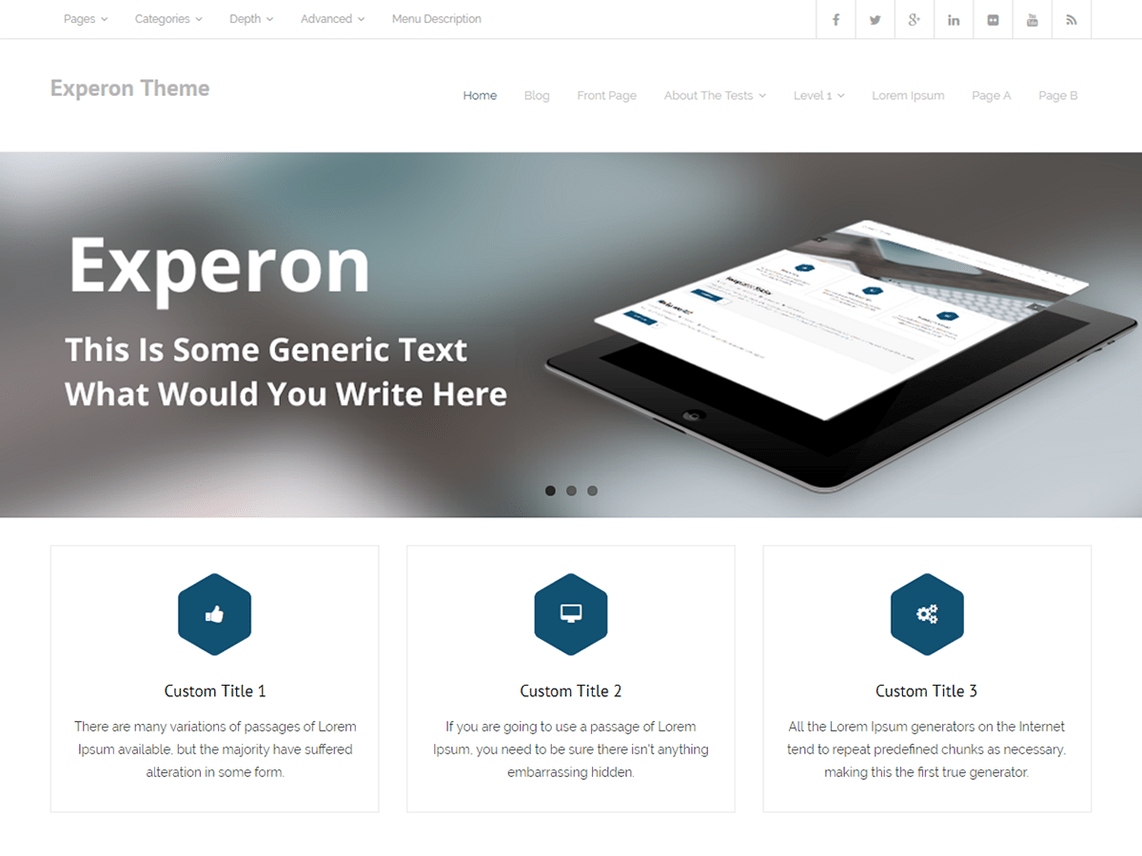 Experon-free-best-WordPress-themes-for-business-CodePixelz