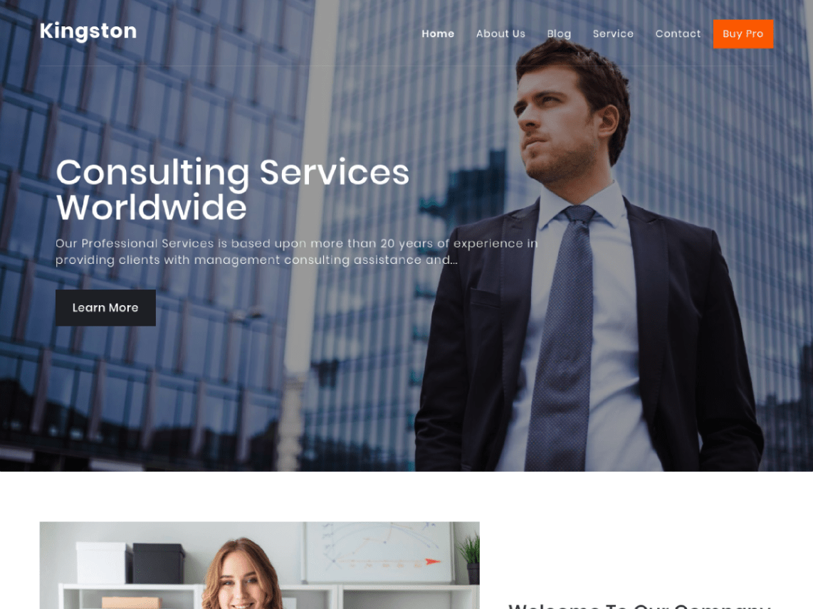 Kingston-free-WordPress-themes-for-business-CodePixelz