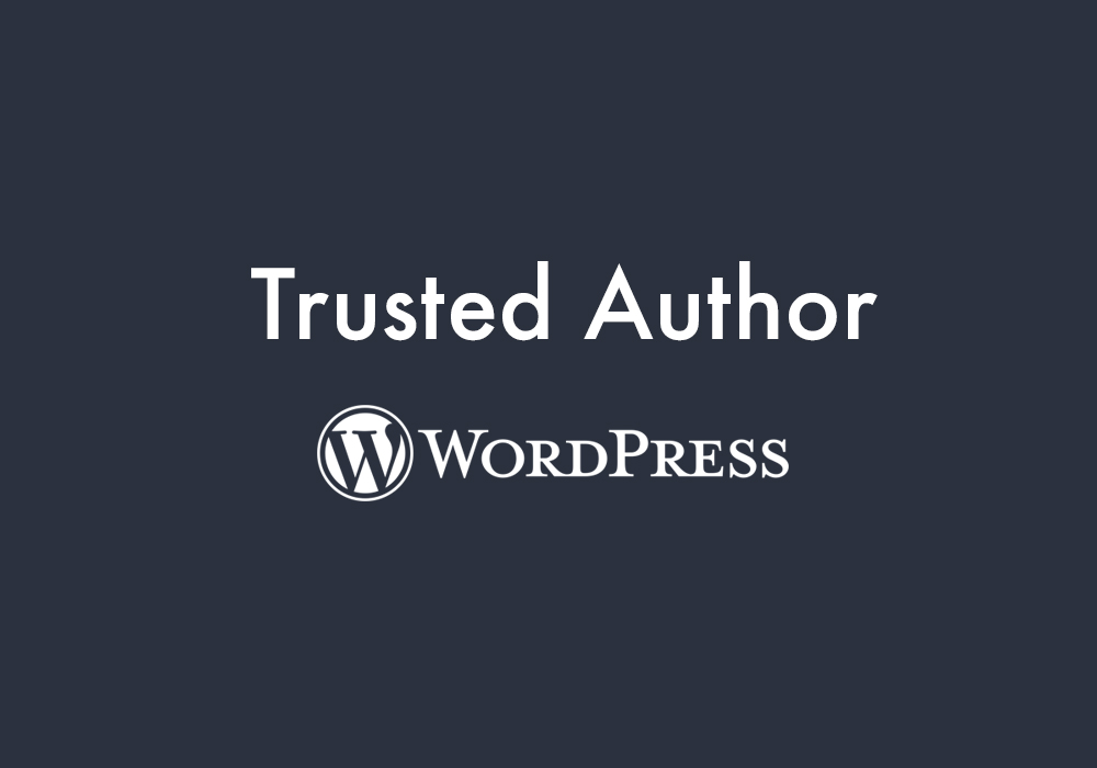 Trusted Author Program | WordPress | Code Pixelz