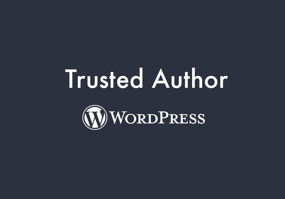 Trusted Author Program | WordPress | Code Pixelz