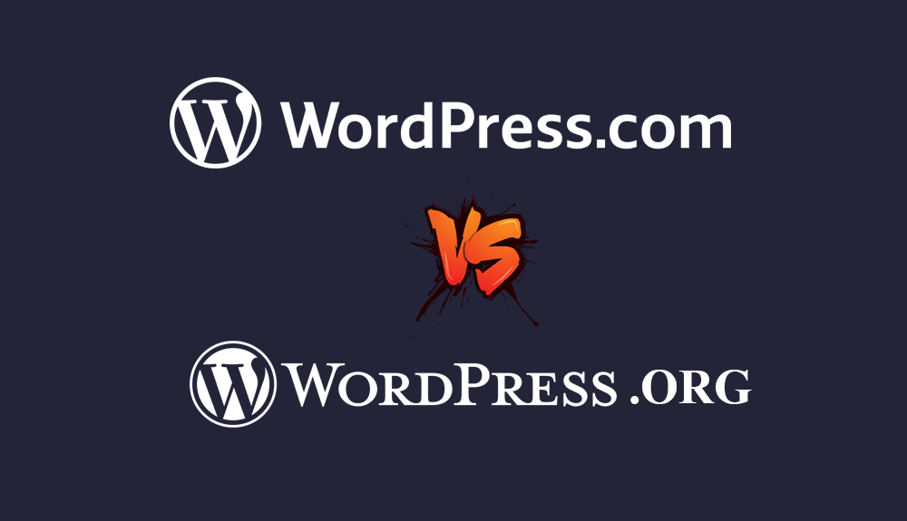 Know the difference: WordPress.com vs WordPress.org