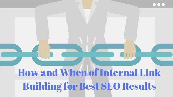 how to build internal link for best seo results
