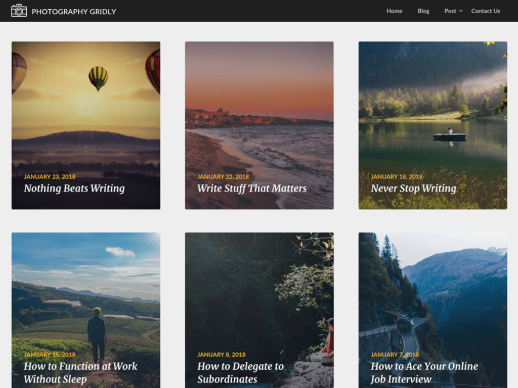 Photographygridly-free-best-photography-WordPress-themes-CodePixelz