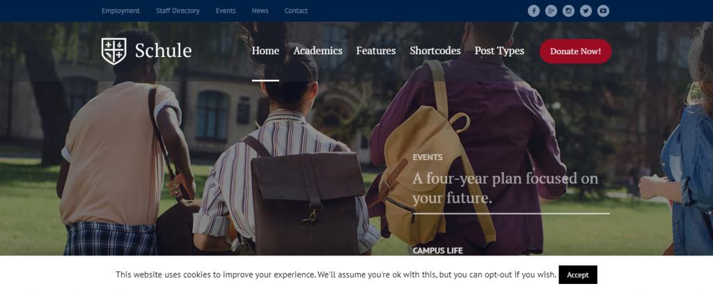 Schule-premium-education-WordPress-theme-Code-Pixelz-Media