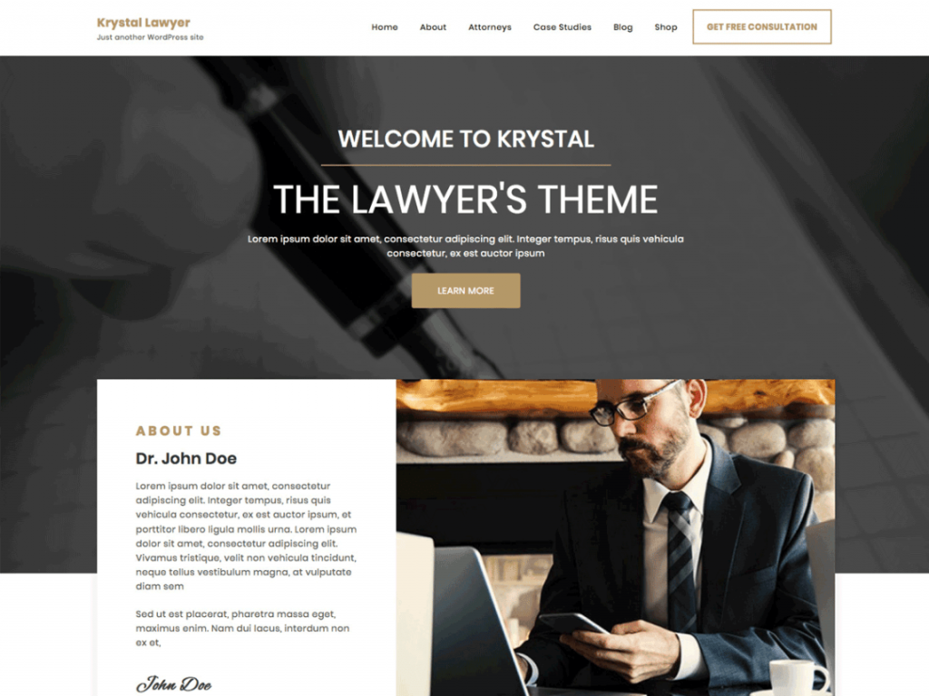 Krystal-lawyer-free-responsive-lawyer-WordPress-theme-CodePixelz