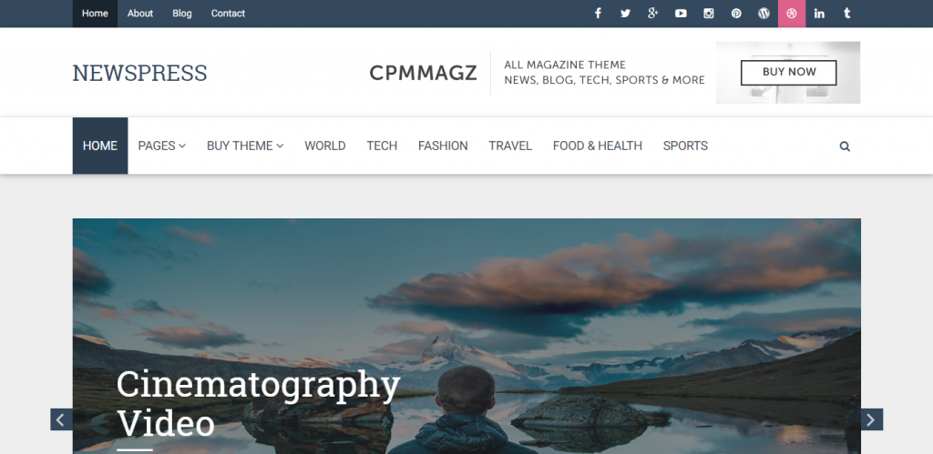 CPM Magz-free-responsive-WordPress-blog-business-themes-Code-Themes
