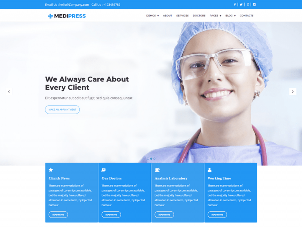 MediPress-free-responsive-medical-WordPress-theme-Code-Pixelz
