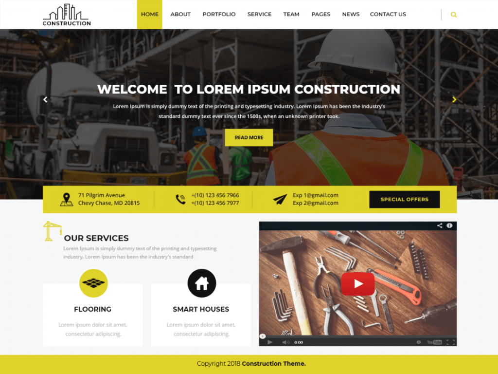 Modern Construction-free-construction-WordPress-theme-CodePixelz
