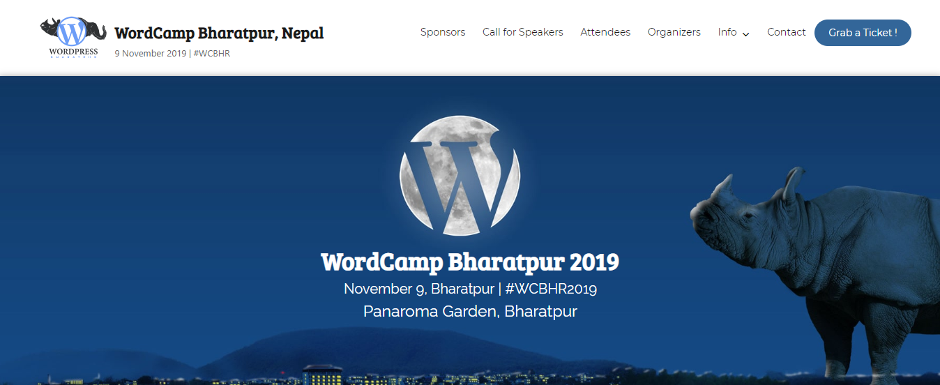 WordCamp Bharatpur 2019-CodePixelz