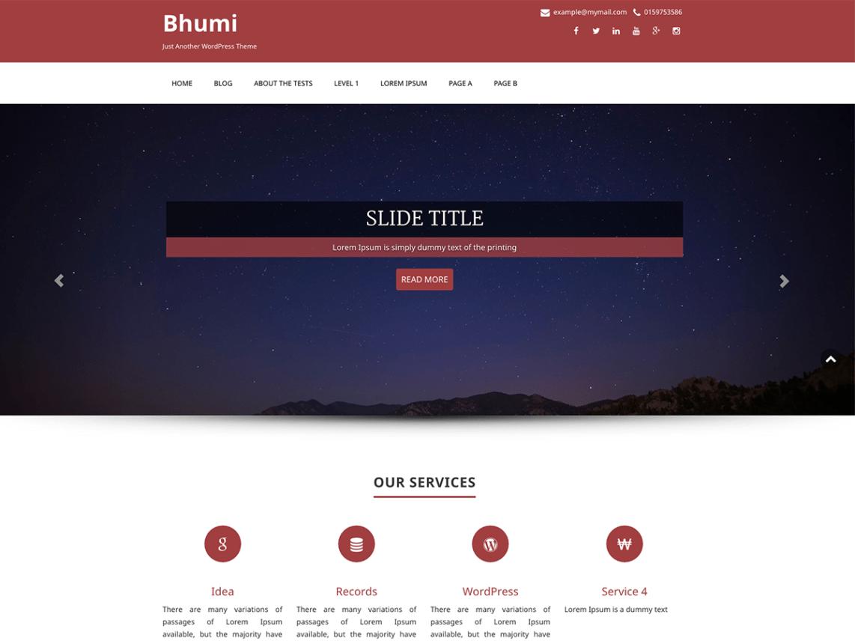 Bhumi-free-responsive-multipurpose-WordPress-theme-Code-Pixelz