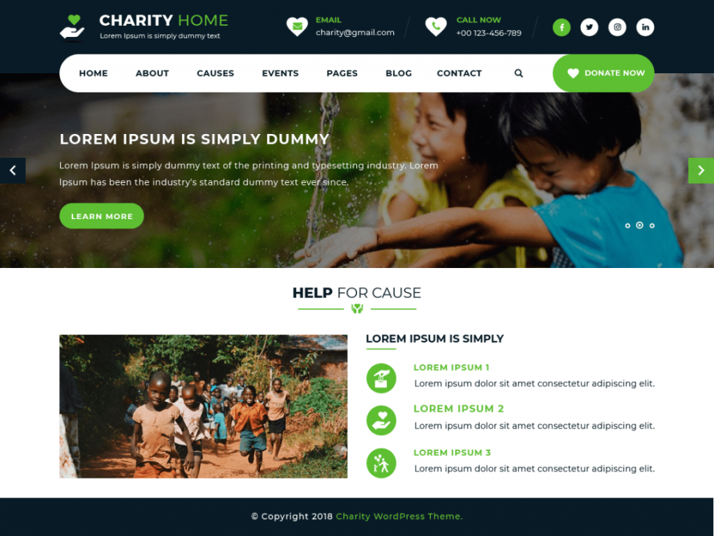 Charity-Fundraiser-free-charity-WordPress-theme-Code-Pixelz
