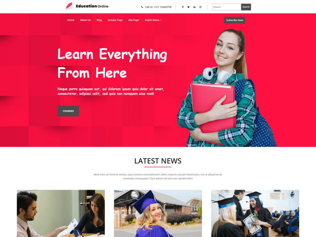 Education Online-responsive-Code-Pixelz