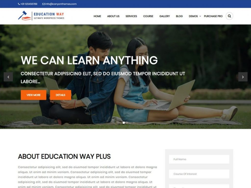 Education-Way-free-education-business-WordPress-theme-Code-Pixelz