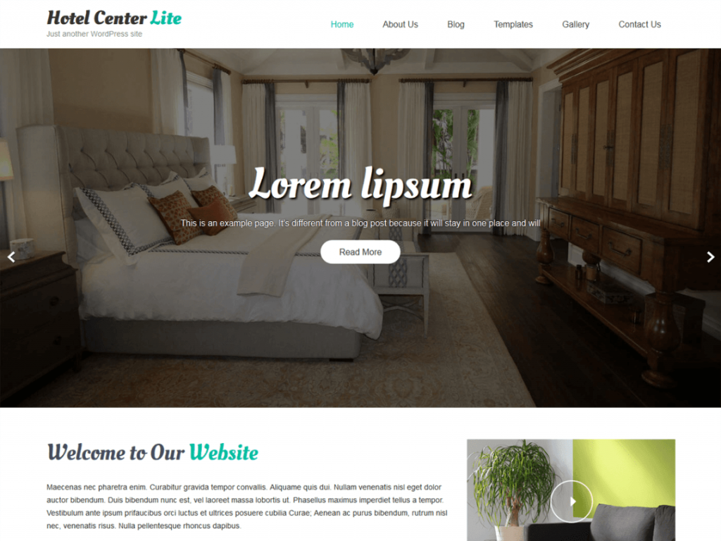 Hotel Center Lite-free-WordPress-hotel-business-theme-Code-Pixelz