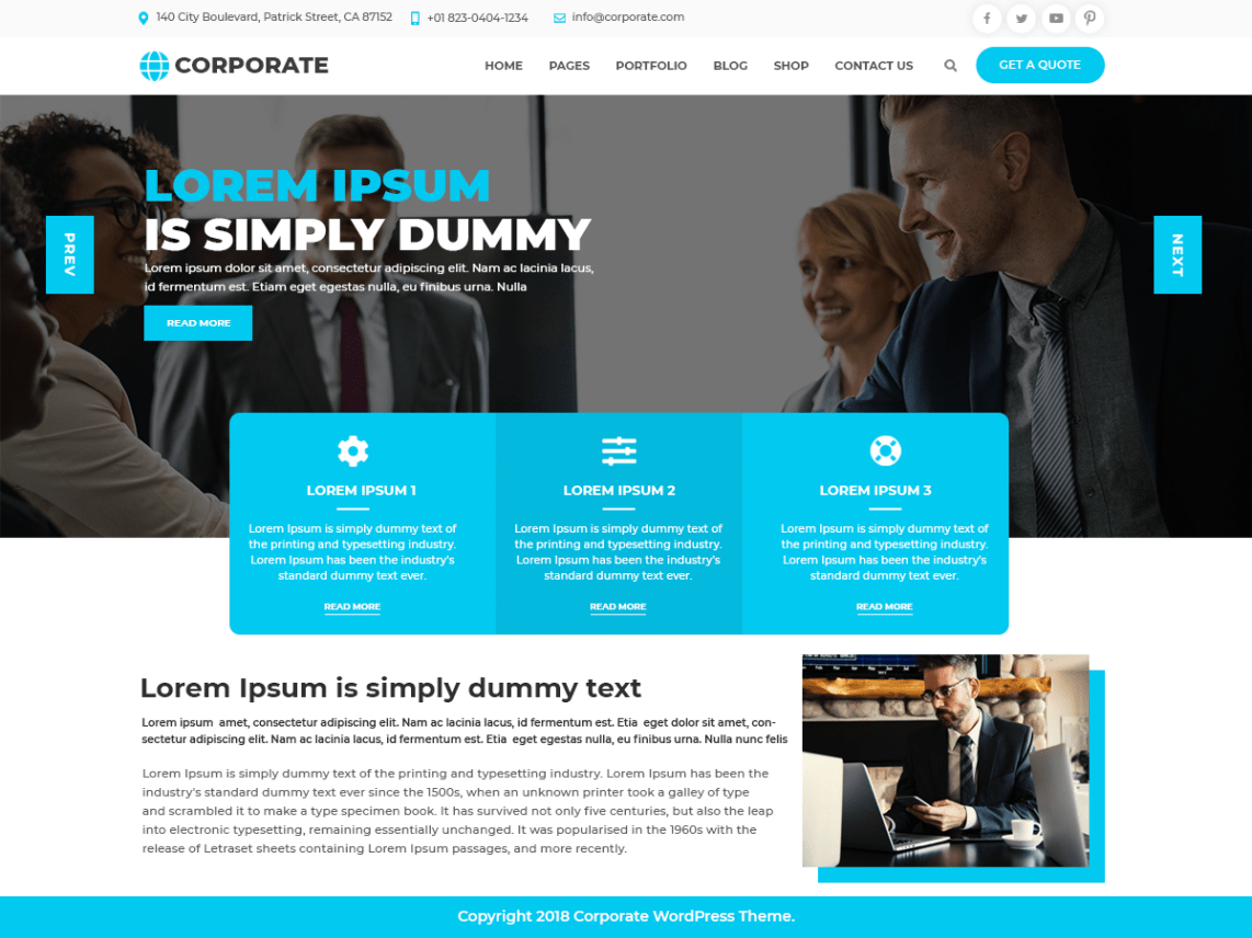 Multipurpose-Corporate-free-WordPress-corporate-business-theme-Code-Pixelz