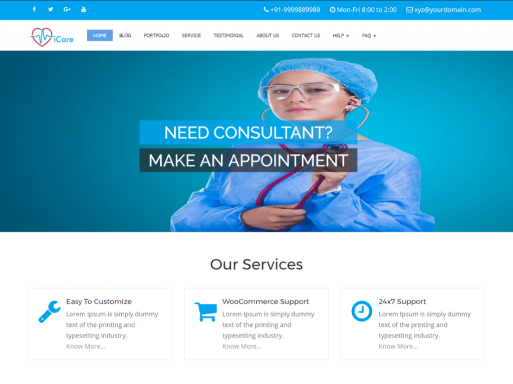 iCare-free-responsive-medical-business-WordPress-theme-CodePixelz