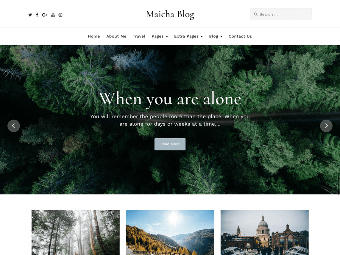 Maicha-Blog-free-responsive-WordPress-theme-for-travel-blogs-CodePixelz