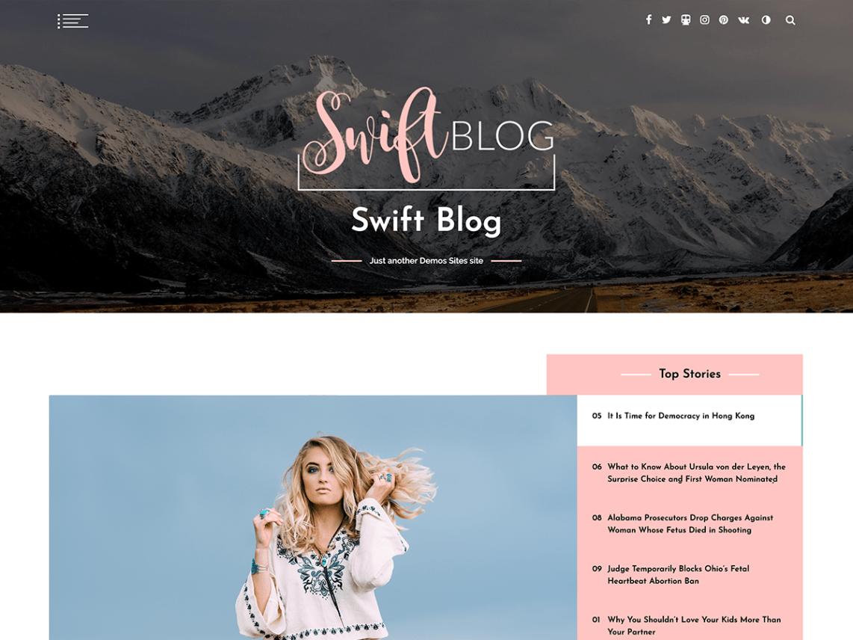 SwiftBlog-free-WordPress-theme-for-travel-blogs-CodePixelz