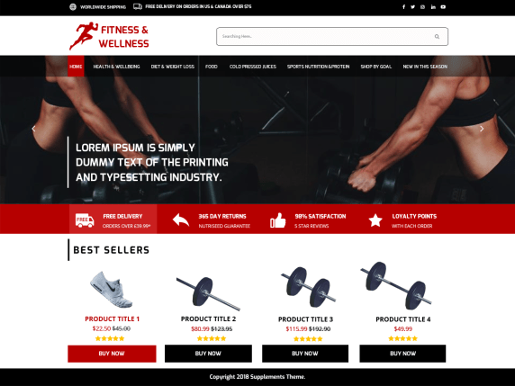 Medical-Supplement-store-free-medical-WordPress-themes-CodePixelz