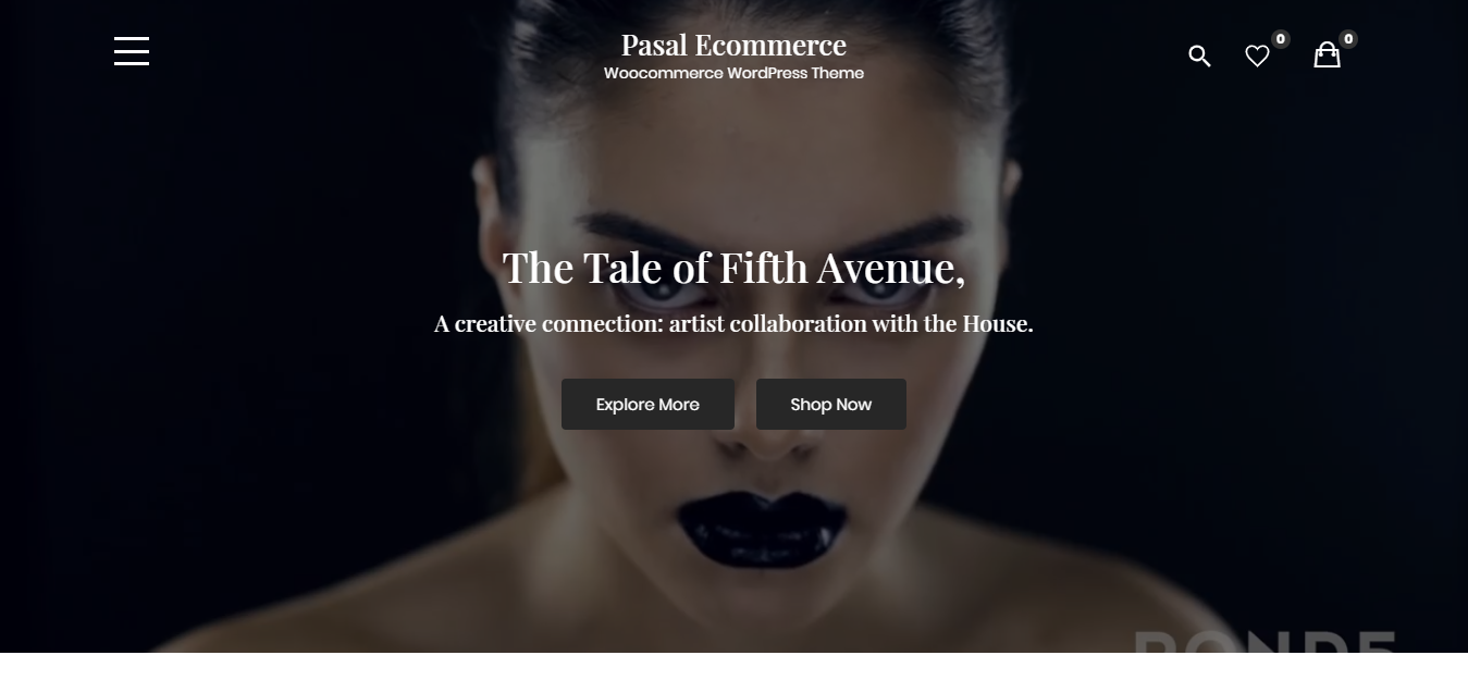 Pasal Ecommerce – Woocommerce-eCommerce-WordPress Theme-CodePixelz