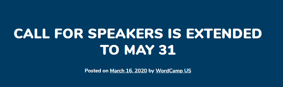 Call-for-Speakers-WordCamp-US-2020-CodePixelz