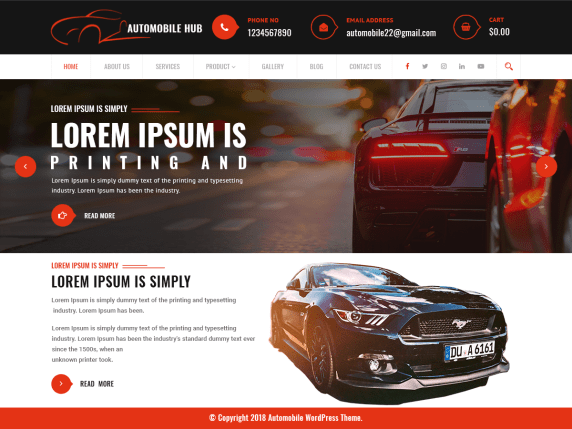 Automobile-Hub-top-best-free-automobile-WordPress-theme-CodePixelz
