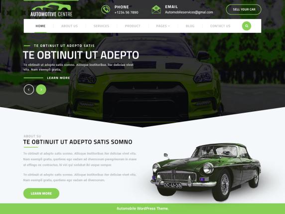 Automotive-Centre-free-automobile-WordPress-theme-CodePixelz
