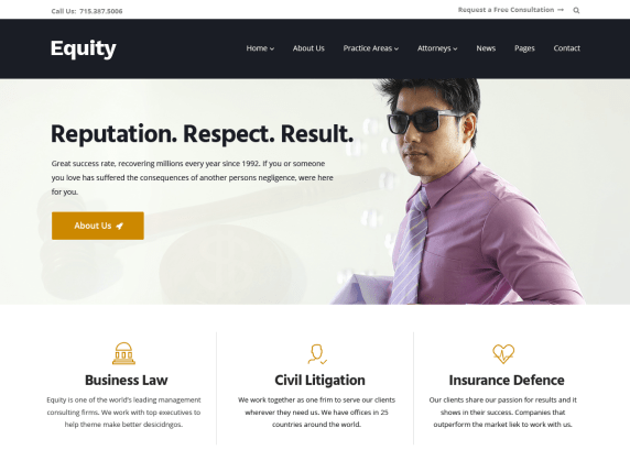 Equity-best-free-lawyer-legal-WordPress-theme-CodePixelz