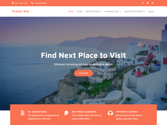 TravelAce-best-free-travel-agecy-vacation-WordPress-theme-Codeixelz